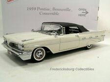 DANBURY MINT 1959 PONTIAC BONNEVILLE CONVERTIBLE - MIB WITH PAPERWORK