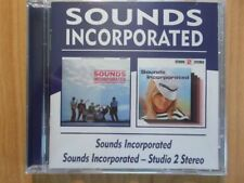SOUNDS INCORPORATED CD: SOUNDS INCORPORATED/STUDIO 2 STEREO (BGOCD661)
