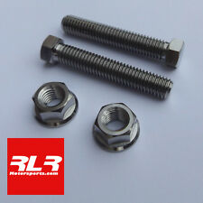 Suzuki GSXR750 / 600  K1- K10 titanium axle chain adjuster bolt SET