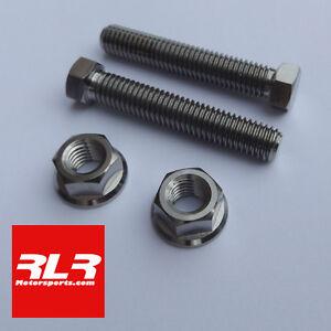 Suzuki GSXR750 / 600  K1- K10 titanium axle chain adjuster bolt SET