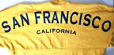 Esprit San Francisco Spelled Out Yellow Oversize T Shirt Women S Streetwear L/S