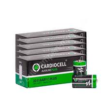 50x Baby C / LR14 - Batterie Alkaline, CardioCell PLUS, Erstausrüster Qualität,