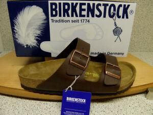 "Birkenstock ® Top  "" Arizona "" braun normal ( breit ) Nr. 51701 (Bi4)"