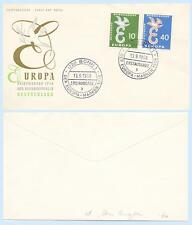 Germany 1958 #790-91 Europa First Day Cover FDC