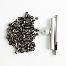 100pcs Eyelet Set Grommet Kit Kydex Sheath Hunting Knife Parts DIY Outdoor Tool