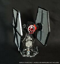 Display stand 3D + slots for Lego 75101 Tie Fighter (Star Wars)
