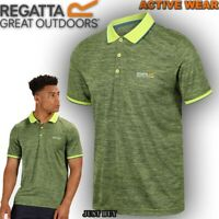 Regatta Mens Polo T Shirt Hiking Camping Work Short Sleeve Summer Jersey Remex