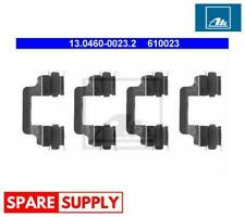 ACCESSORY KIT, DISC BRAKE PADS FOR AUDI VW ATE 13.0460-0023.2