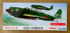 FUJIMI 1/72 D4Y4 Suisei 'Judy' Type 43 MODEL KIT NEW