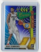 2019-20 Donruss optic basketball purple holo parallel express lane Ben Simmons