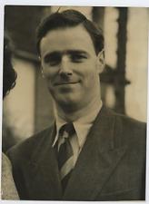 Dr. John Wilkinson  Vintage silver print Tirage argentique  15x20  Circa 1