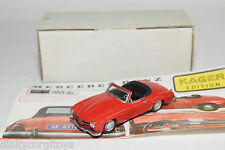 KAGER KIT MERCEDES BENZ 190SL 190 SL RED NEAR MINT BOXED RARE SELTEN