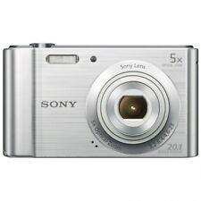 Camara fotografica digital Sony DSCW800S 20,1 Megapixeles 6X HD VIDEO Plata