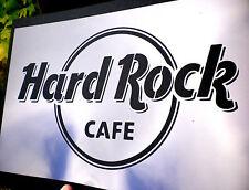 high detail airbrush stencil hard rock -logo FREE UK POSTAGE