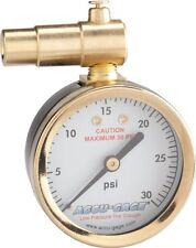Meiser Presta-Valve Dial Gauge with Pressure Relief: 30psi For Fat Bikes NEW!
