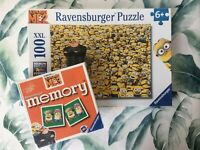 Ravensburger Despicable Me 2 Minions Jigsaw Puzzle 100 XXL Pieces - Memory Game