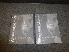 2009 Lincoln MKS Original Shop Service Repair Technical  Manual Set 3.7L V6