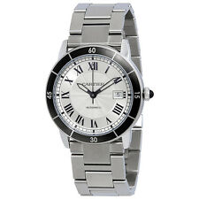 Cartier Ronde Croisiere Automatic Mens Watch WSRN0010