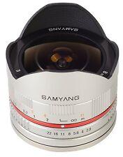 Samyang 8mm Fisheye F2.8 Silver Manual Focus Lens for Sony E