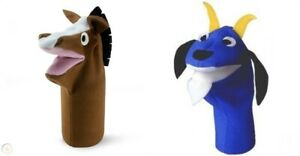 2 Fun Educational BABY EINSTEIN Hand Puppets - Pretend Play Puppet Theatre Story