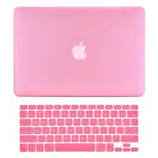 "Unik Case-2 in 1 Matte Hard Case & Silicone Skin for Macbook Pro 13"" -Pink"
