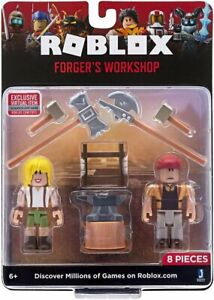 Roblox Forger's Workshop (8 Pieces) Exclusive Virtual Item Included | NEW