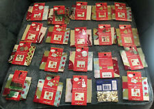 LOT of 19! Quick Crafts Ornament Making Kits, Each Makes 2! Orig $57+tx Make 38!