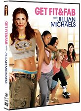 JILLIAN MICHAELS GET FIT & FAB DVD NEW SEALED FREE SHIPPING