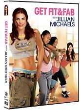 JILLIAN MICHAELS GET FIT & FAB DVD NEW SEALED FREE SHIPPING