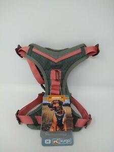 Kurgo Gray & Pink Journey Dog Harness Medium For 25-50 lbs Dog, #5957