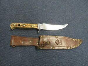 PUMA MODEL 6393 SKINNER HUNTING KNIFE W/ SHEATH