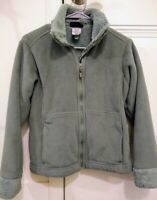 EUC Patagonia Synchilla Fleece Small Sage Green Artic Jacket Coat Plush Full Zip
