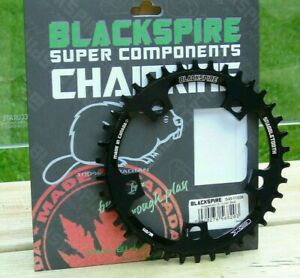 Genuine Blackspire Snaggletooth NW CX/1By Chainring, Black, Various, Brand New