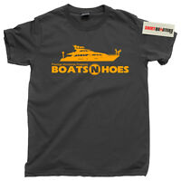 Step Brothers Prestige Worldwide Boats N and Hoes Anchorman blu ray Tee T Shirt