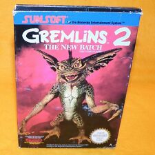 VINTAGE 1990 NINTENDO ENTERTAINMENT SYSTEM NES GREMLINS 2 THE NEW BATCH GAME