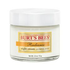 Burts Bees Radiance Night Cream w/ Royal Jelly Natural 2 oz