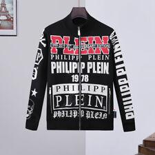 Felpa PP Philipp Plein strass hoodie maglione jumper Philip rhinestones pullover