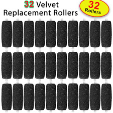 32 X Extra Coarse Replacement Refill Rollers for Scholl Velvet Smooth Express