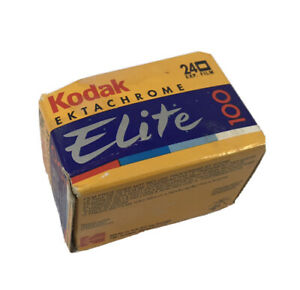 Vintage 1995 NOS Kodak Elite Ektachrome 100 HC Film 1 Roll 24 Expired 10/95