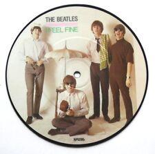 """! nuevo! disco de imagen de los Beatles me siento bien 7"""" Vinilo el 20th aniversario"""