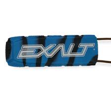 Exalt Paintball Bayonet Barrel Condom / Cover - Cyan / Black Swirl