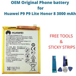 OEM Original Battery For Huawei P9 P9 Lite Honor 8 3000 mAh HB366481ECW Battery