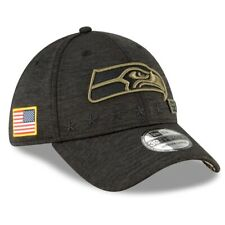 2020 Seaattle Seahawks New Era 39THIRTY NFL Salute To Service Sideline Cap Hat