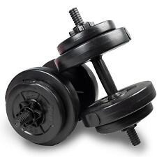 Phoenix Fitness 15kg Bodybuilding Weights Set Dumbbells Gym Fitness