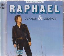 CD - Raphael NEW De Amor & Desamor 2 CD/DVD - FAST SHIPPING !