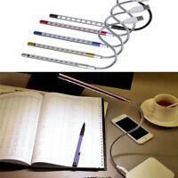 PC Keyboard Flexible Laptop USB Reading Light 10 LED Booklight Book Lamp