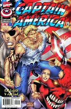 Captain America #2 Red Skull Signed By Writer Jeph Loeb & Artist Rob Liefeld