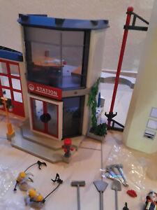 Playmobil 4819 Feuerwehr-Hauptquartier, vollständig, OVP, sehr gut erhalten!