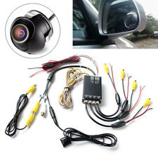 Car Parking Panoramic View Rearview Camera System 360 Degree View with 4 Cameras