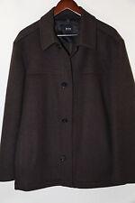 #117 Hugo Boss Black Label 'Chester' Wool & Cashmere Coat  Size 38 R msrp $345